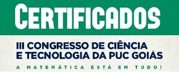Certificados dos Apresentadores do II congresso