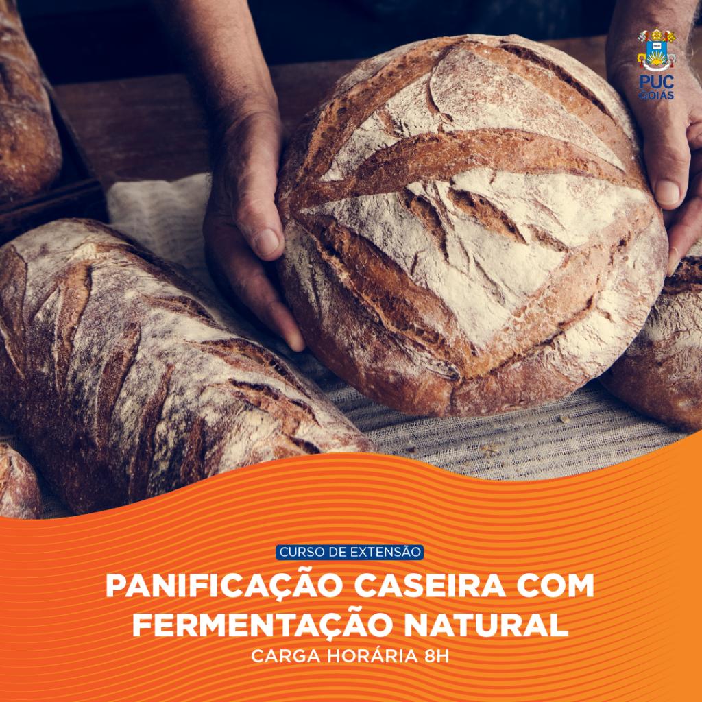 PANIFICAÇÃO CASEIRA COM FERMENTAÇÃO NATURAL
