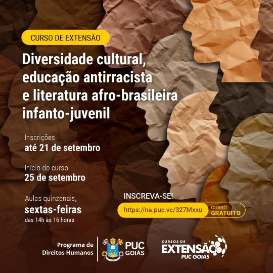 CURSO DE EXTENSÃO GRATUITO Diversidade cultural