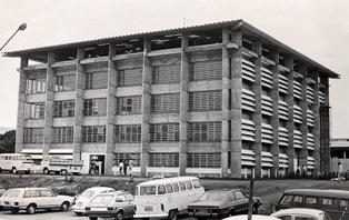 Fachada da Biblioteca Central sede atual. (1985)
