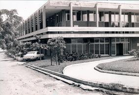Fachada da Reitoria da PUC Goiás (1972)