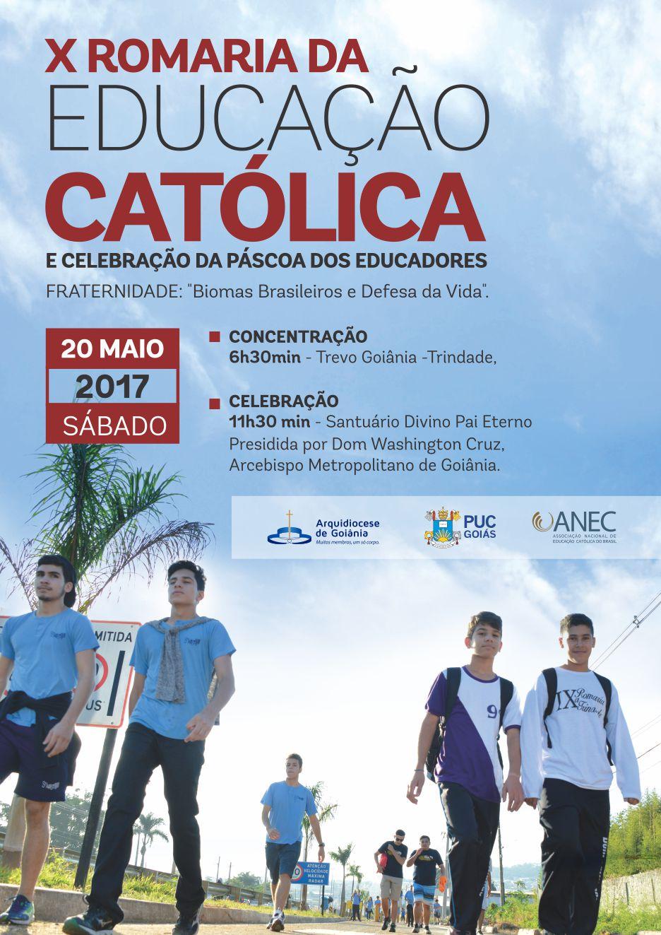 Cartaz Romaria Catolica 2017