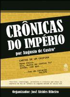 Book Cover: CRÔNICAS DO IMPÉRIO POR AUGUSTO DE CASTRO
